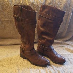 Womens Brash Calf boots